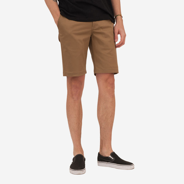 Bon Vivant - Keenan Lightweight Twill Shorts - Tan