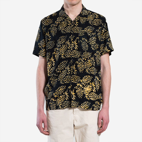 Stan Ray - Kelapa Batik Vacation Shirt - Pina Batik Black