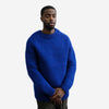 Klein Crewneck Wool Sweater - Blue