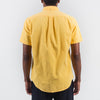 Portuguese Flannel - Lobo Corduroy Short-Sleeve Shirt - Pretty Yellow