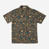 Leisure Short-Sleeve Shirt - Black Floral
