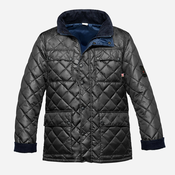 Arctic Bay - London Light-Weight Jacket - Imperial Black