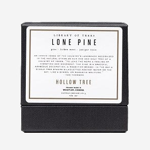 Library of Trees - Lone Pine Candle