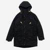 Long Mountain Parka - Wool Lined Black