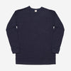 3Sixteen - Long Sleeve Heavyweight Pocket T-Shirt - Indigo