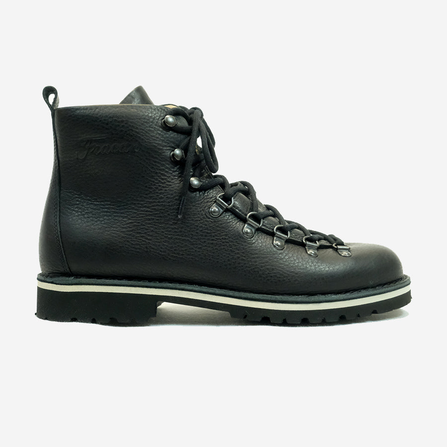 M120 Alto Magnifico Leather Boots - Black