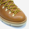M120 Magnifico Leather Boots - Brandy with Fur Lining
