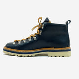 M120 Magnifico Leather Boots - Navy Blue