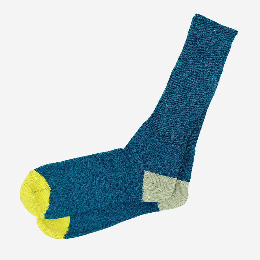 Anonymous Ism - Moc 2 Point Crew Socks - Blue