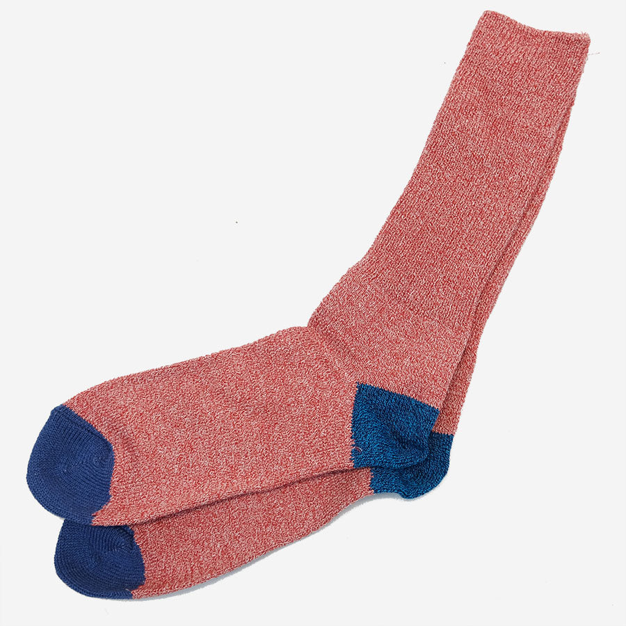 Anonymous Ism - Moc 2 Point Crew Socks - Red