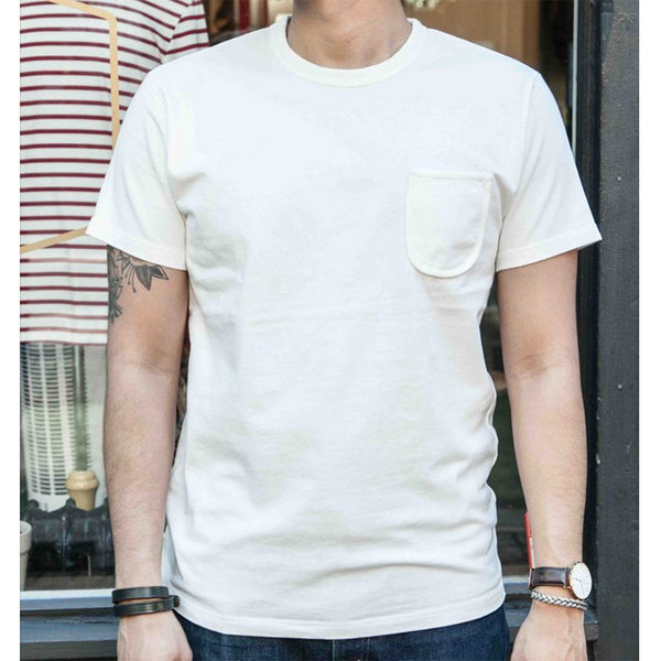 Merry Company - Merry Pocket Tee - White