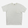 Merry Pocket Tee - White