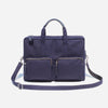 Woolfell - Messenger Pocket - Navy Canvas