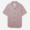 Miles S/S Vacation Shirt - Faded Mauve Baby Cord
