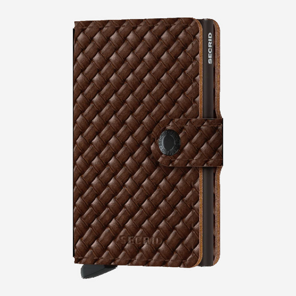 Secrid - Mini Wallet - Basket Brown