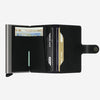 Secrid - Mini Wallet - Black Leather