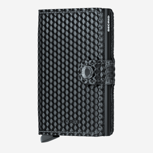 Secrid - Mini Wallet - Cubic Black
