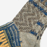 Multi Links Crew Socks - Olive