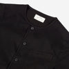 Kestin Hare - Neist Collarless Overshirt - Black