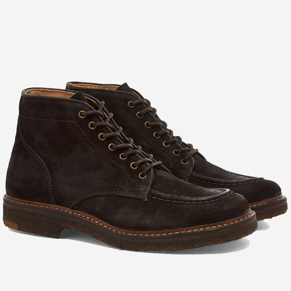 Nuvoflex Leather Boots - Brown