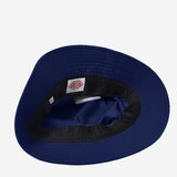 Nylon Adjustable Bucket Hat - Navy