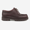 Padror Leather Tyrolean Shoes - Bordeaux