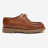 Padror Oak Leather Tyrolean Shoes - Brick
