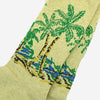 Anonymous Ism - Palm Tree Crew Socks - Natural