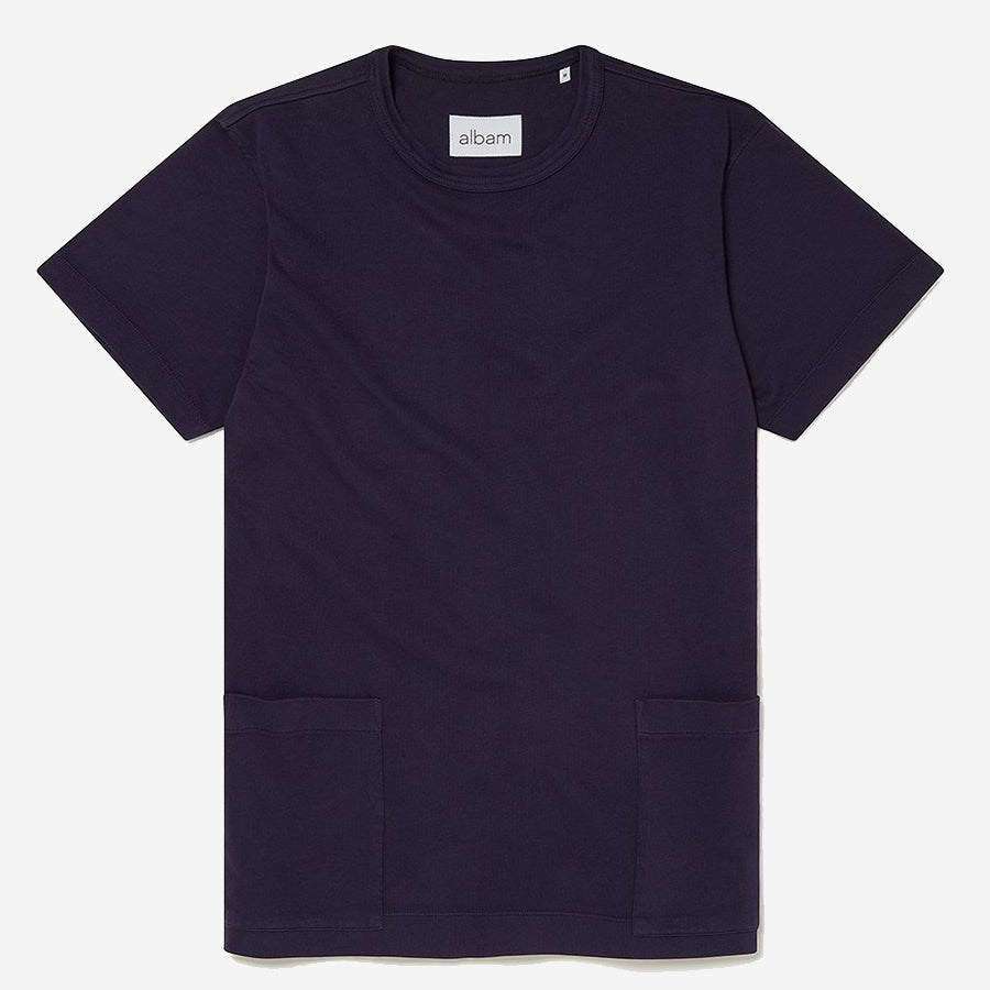 Albam - Patch Pocket T-Shirt - Rich Navy