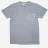 Velva Sheen - Pigment Dyed Pocket T-Shirt - Light Blue