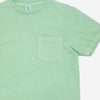 Velva Sheen - Pigment Dyed Pocket T-Shirt - Lime