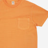 Velva Sheen - Pigment Dyed Pocket T-Shirt - Orange