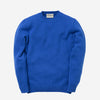 Staple Plain Crew Lambswool Sweater - Speedwell Blue