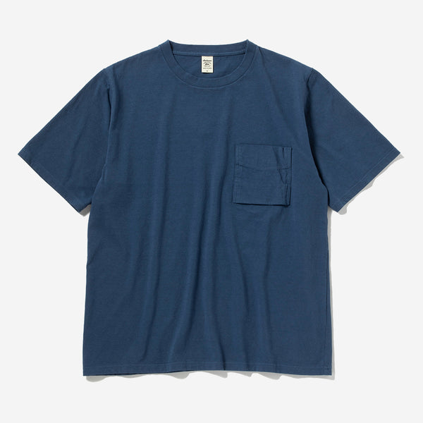Pocket T-Shirt - Ash Blue