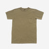 Garment Dyed Heavyweight Pocket T-Shirt - Military Green