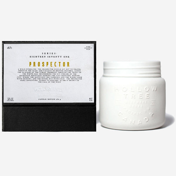 Hollow Tree - 1871 - Prospector Candle
