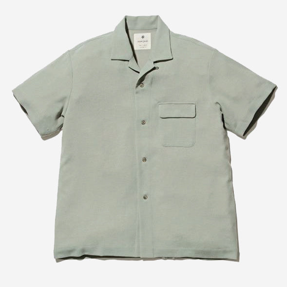 Snow Peak - Quick Dry Crepe Weave Soft Shirt - Sage