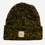 Upstate Stock - Ragg Wool Beanie Toque - Canary Melange