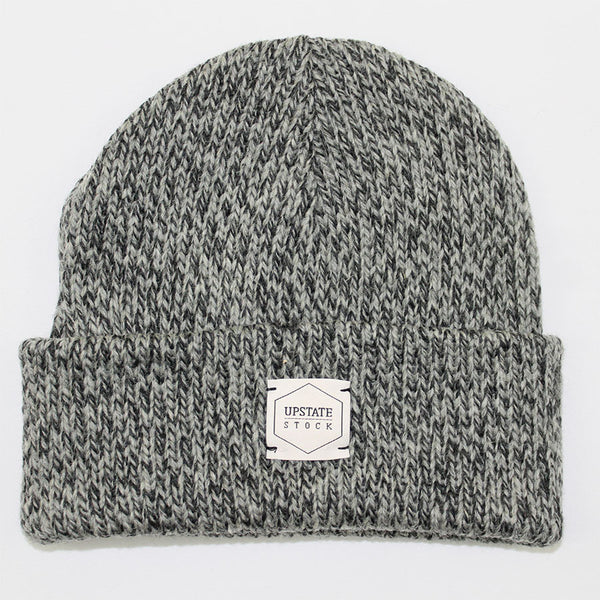 Upstate Stock - Beanie Toque - Charcoal Melange
