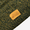 Upstate Stock - Ragg Wool Beanie Toque - Olive Melange (MG AFR Exclusive)