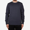 Roll Neck Merino Sweater - Steel Blue