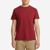 Velva Sheen - Rolled Regular T-Shirt - Burgundy