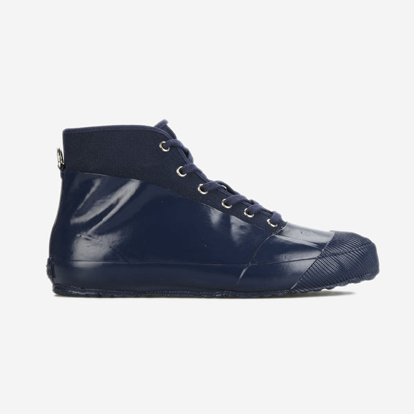 Rubber Sneaker Boots - Navy/Navy
