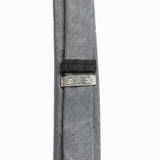Cursor & Thread - S'n'P Linen Necktie - Dove Grey