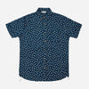 3Sixteen - Sakura Print Short-Sleeve Shirt - Blue