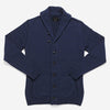 Outclass Attire - Shawl Collar Cardigan - Indigo