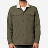 Portuguese Flannel - Sherpa Army Jacket - Olive Ripstop