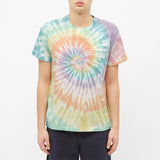 Short-Sleeve Pocket T-Shirt - Spiral Tie Die