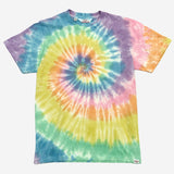 Battenwear - Short-Sleeve Pocket T-Shirt - Sprial Tie Die