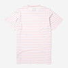 Albam - Simple Stripe T-Shirt - Pink/White